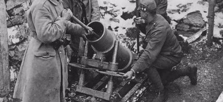 Artyleria, moździerz - zdjęcie, fotografia