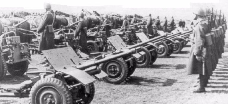 Artyleria, armata przeciwpancerna - zdjęcie, fotografia