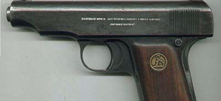Broń palna, Pistolety Ortgies - zdjęcie, fotografia