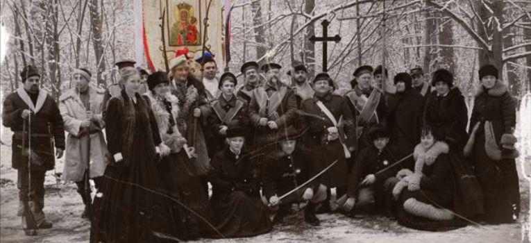 Imprezy historyczne, –rocznica powstańczej bitwy Bolimowem - zdjęcie, fotografia