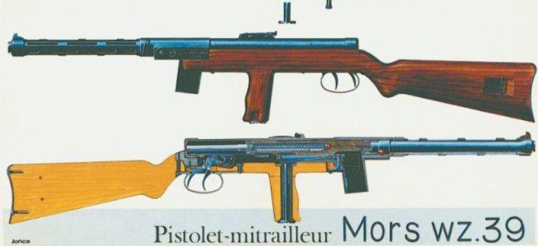 Broń palna, Pistolet Maszynowy - zdjęcie, fotografia