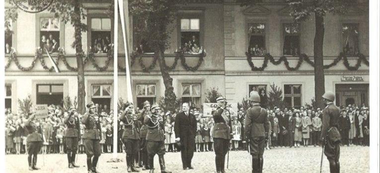Wspomnienia, Uroczystość wręczenia bronii Armii - zdjęcie, fotografia