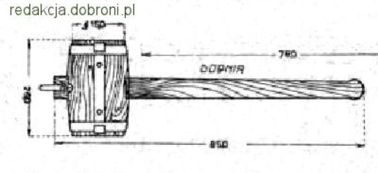 Broń biała, Dobia drewniana - zdjęcie, fotografia