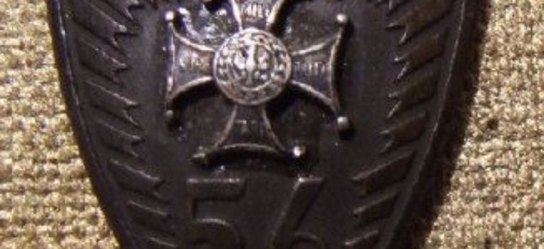 Odznaki wojskowe odznaczenia, Odznaka Pułku Piechoty Wielkopolskiej - zdjęcie, fotografia