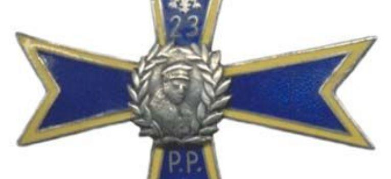 Odznaki wojskowe odznaczenia, Odznaka Pułku Piechoty - zdjęcie, fotografia