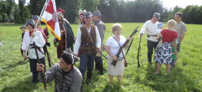 Imprezy historyczne, Хоржеле powstanie styczniowe - zdjęcie, fotografia