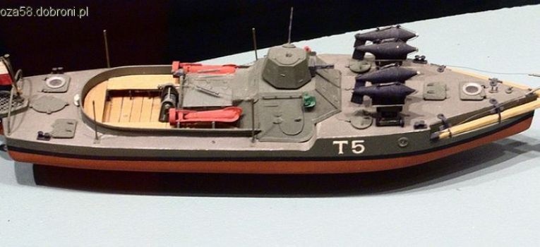 Marynarka wojenna, Flotylla Pińska Opancerzony Trałowiec Rzeczny - zdjęcie, fotografia