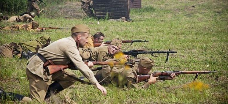 Imprezy historyczne, Cztery czołgi Walkirii - zdjęcie, fotografia