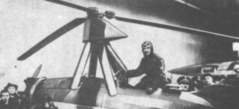 Lotnictwo samoloty , Wiatrakowiec Cierva - zdjęcie, fotografia
