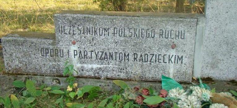 Eksploracje, Żelazna Rządowa pomnik partyzantów - zdjęcie, fotografia