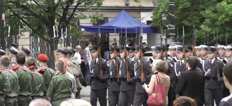 Imprezy historyczne, rocznica wybuchu Powstania Warszawskiego Warszawa - zdjęcie, fotografia
