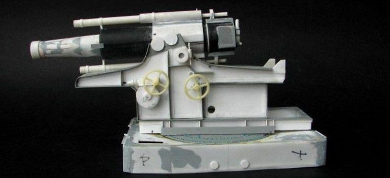 Dioramy, Moździerz kalibru scrach build - zdjęcie, fotografia