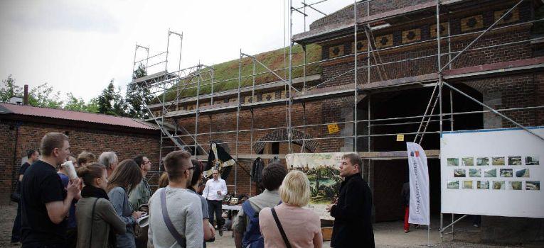 Imprezy historyczne, Pierwsze takie zwiedzanie poznańskiej Śluzy Katedralnej - zdjęcie, fotografia