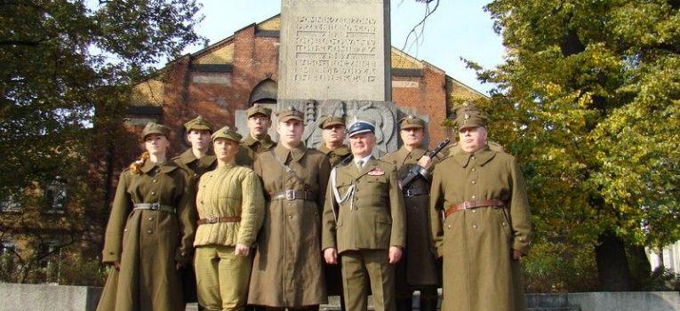 Imprezy historyczne, rocznica Bitwy Lenino Obchody Poznaniu - zdjęcie, fotografia
