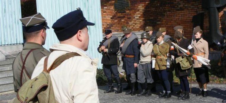 Imprezy historyczne, Marsz Niepokonanych - zdjęcie, fotografia