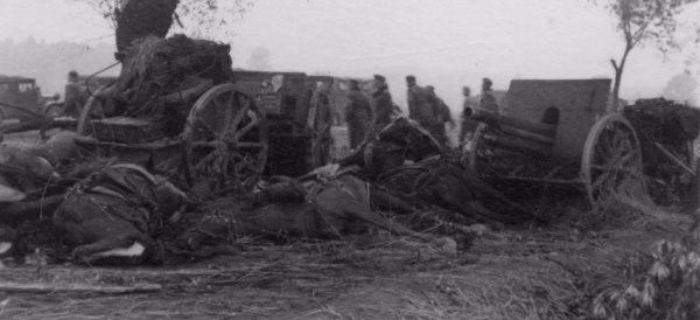 Artyleria, Zdjęcia bitwy Bzurą - zdjęcie, fotografia