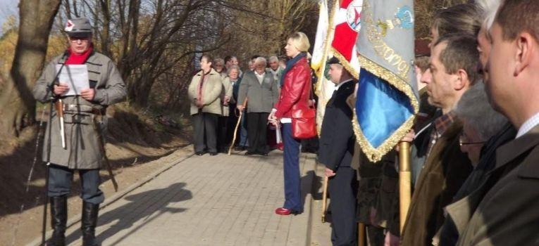 Imprezy historyczne, Krzyż Powstania Styczniowego Kuflew - zdjęcie, fotografia