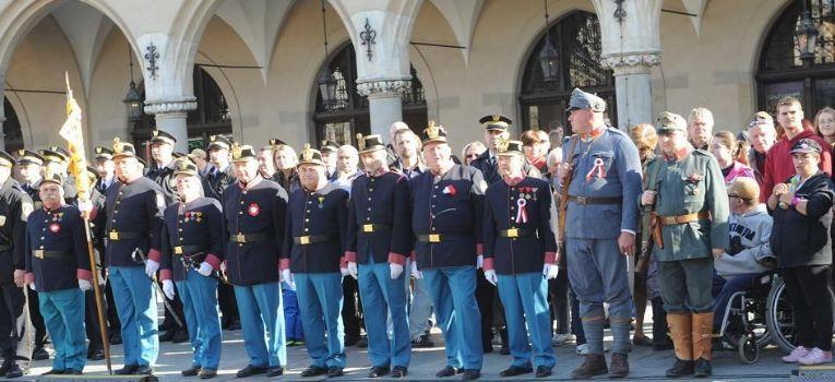 Artyleria, UROCZYSTA ZMIANA WARTY KRAKOWIE - zdjęcie, fotografia