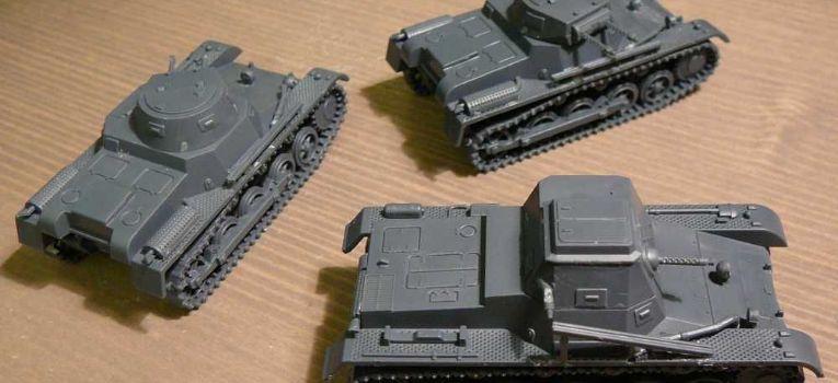 Modele czołgów, PzBef First Fight - zdjęcie, fotografia