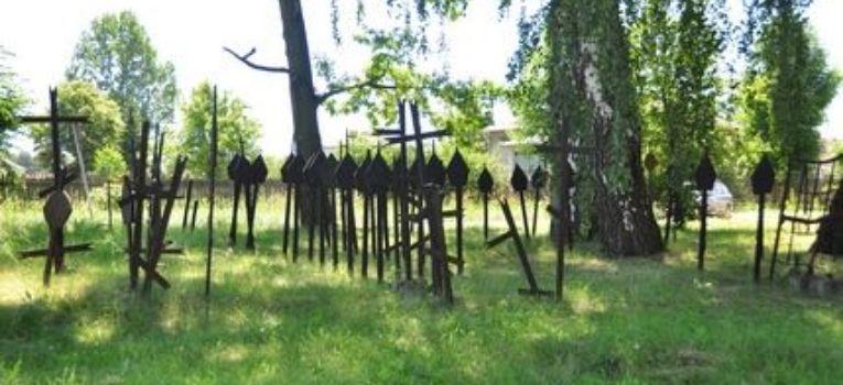 Eksploracje, Cmentarz wojny światowej Grabowie n/Pilicą - zdjęcie, fotografia