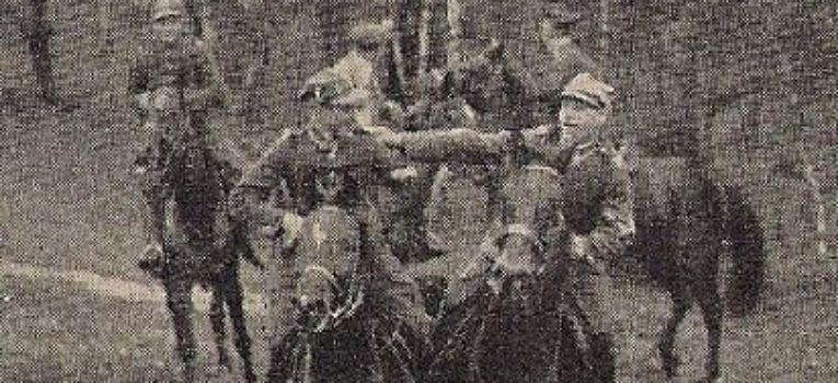 Wspomnienia, Hubertus pułku strzelców konnych - zdjęcie, fotografia