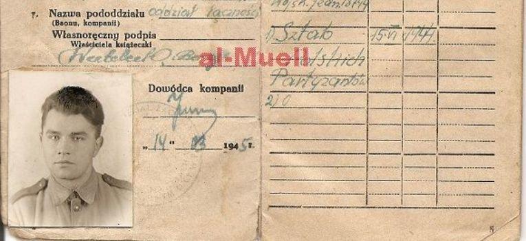 Regulaminy instrukcje wojskowe, Książeczka Wojskowa – chronologia - zdjęcie, fotografia