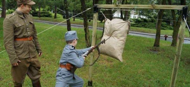 Imprezy historyczne, Wielki Piknik Legionowy Akademii Obrony Narodowej Rembertowie - zdjęcie, fotografia