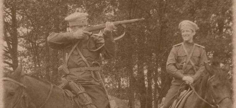 Imprezy historyczne, dragoński Pskowski Pułk Imperatorowej Marii Fiodorowny Pułk Strzelecki Suwałk - zdjęcie, fotografia