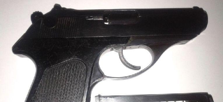 Broń palna, Pistolet Samopowtarzalny Małogabarytowy - zdjęcie, fotografia