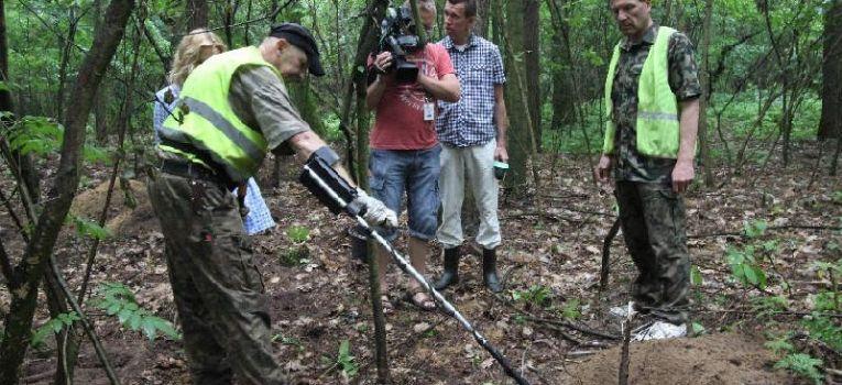 Relacje z odkryć, Niewybuchy podpoznańskich Koziegłowach - zdjęcie, fotografia