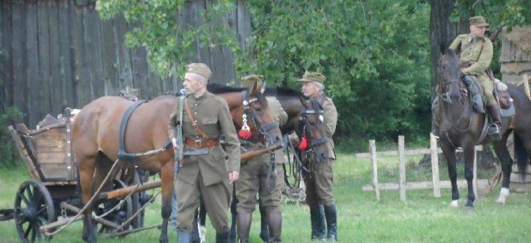 Imprezy historyczne, niemiecką Kolonię Jawor - zdjęcie, fotografia