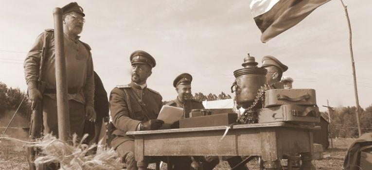 Imprezy historyczne, BOLIMOWIE – setną rocznicę wybuchu Wielkiej Wojny - zdjęcie, fotografia