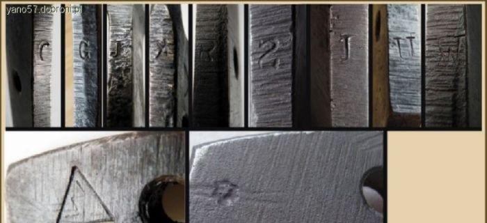 Broń biała, Odbiór wojskowy szabel Hucie Ludwików - zdjęcie, fotografia