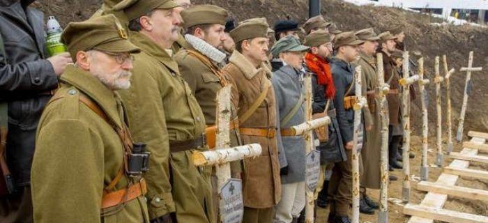 Ekshumacje, Pierwszy Polsce pogrzeb Żołnierzy Niezłomnych - zdjęcie, fotografia