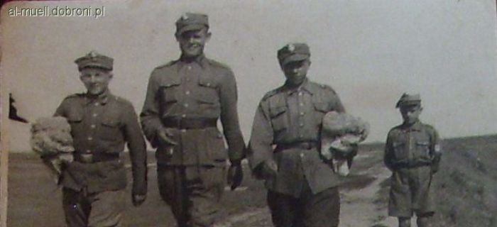 Felietony historyczne, – słów Wojskach Bezpieczeństwa Wewnętrznego uwagi rekonstrukcji - zdjęcie, fotografia