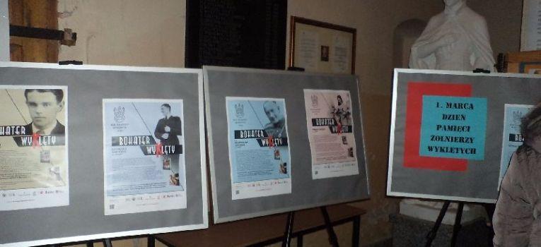 Wystawy historyczne, Wystawa pamięci Żołnierzy Wyklętych Nowej Krępie - zdjęcie, fotografia