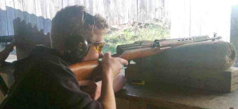 Broń palna, Wielobój strzelecki broni historycznej centralnego zapłonu - zdjęcie, fotografia