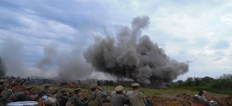 Imprezy historyczne, Sochaczew/Tułowice lecie ataków gazowych - zdjęcie, fotografia
