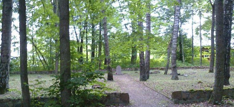 Bunkry i fortyfikacje, Cmentarz Białowieży - zdjęcie, fotografia
