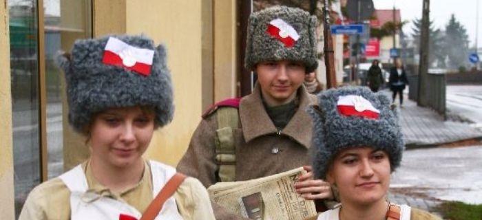 Wspomnienia, Święto Niepodległości Przasnyszu - zdjęcie, fotografia