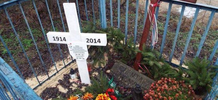 Społeczność, Sprzątanie cmentarzy WIelkiej Wojny - zdjęcie, fotografia