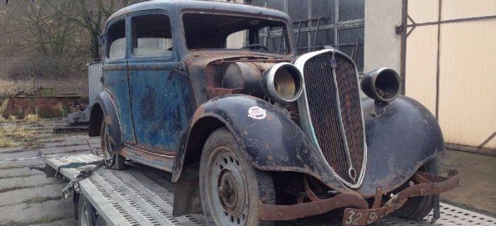 Pojazdy historyczne, Projekt Polskie Fiaty 508/518 - zdjęcie, fotografia
