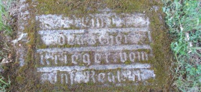 Identyfikacje historyczne, Cmentarz pierwszowojenny Bolimowska Wieś - zdjęcie, fotografia