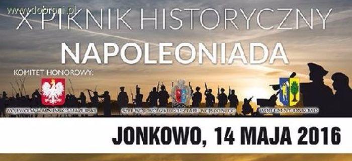 Imprezy historyczne, Piknik Historyczny Napoleoniada Jonkowo - zdjęcie, fotografia