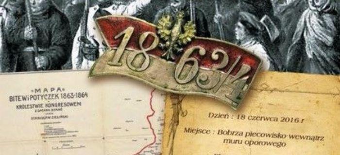 Rekonstrukcje, Rekonstrukcja bitwy oddziału Dionizego Czachowskiego Bobrzą Powstanie Styczniowe 1863r - zdjęcie, fotografia