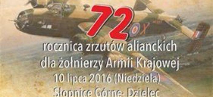 Imprezy historyczne, Rocznica Zrzutów Alianckich Armii Krajowej zrzutowisku - zdjęcie, fotografia
