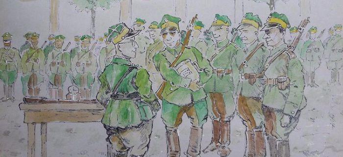 Kawaleria, Przyczynki historii Jazłowieckich - zdjęcie, fotografia