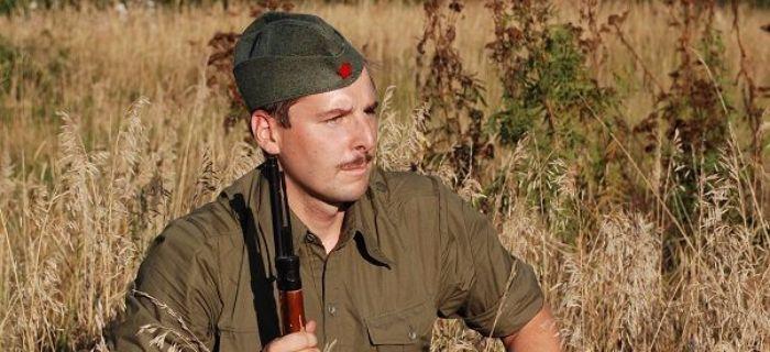Odznaki wojskowe odznaczenia, Zapomniane sylwetki wojny swiatowej Partyzant Jugosławia 1944r - zdjęcie, fotografia