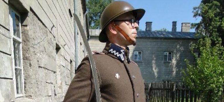 Mundury wojskowe, Podchorąży rezerwy piechoty stażysta - zdjęcie, fotografia