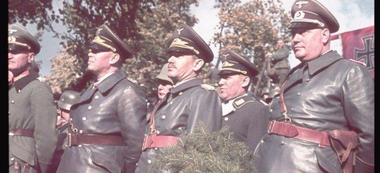 Mundury wojskowe, oficerski Wehrmachtu 1939r - zdjęcie, fotografia